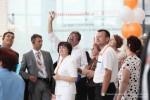 Радиогид TourAudio TWG на церемонии открытия ТЦ AQUAMOLL в Ульяновске